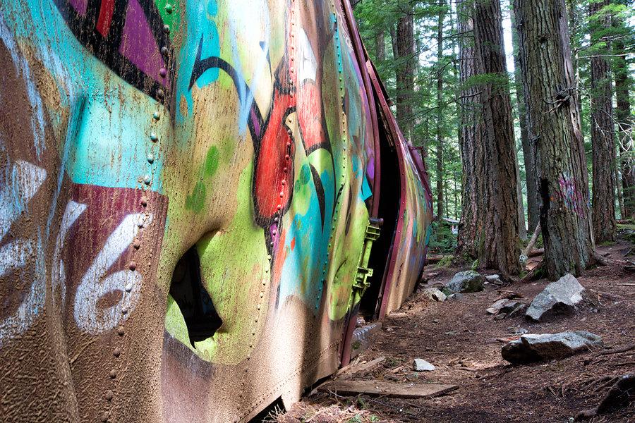 Graffiti Train 666